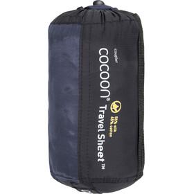 Cocoon - Drap sac de couchage Coupler soie/coton - violet